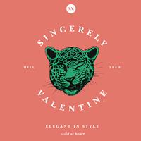 Sincerely Valentine logo