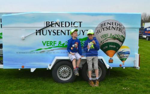 Ballonvaart Benedict Huysentruyt Kortrijk