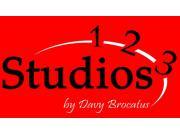 Dansstudio 1-2-3 logo